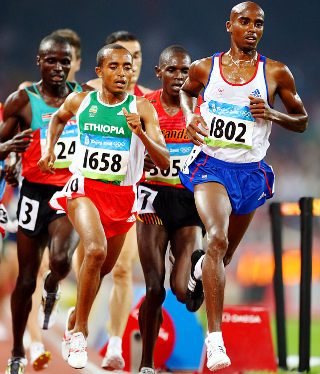 The Somalian-born, Oregon-trained distance man bowed out in the 5,000-meter heats in Beijing. Now he's a world champion and has his eyes on a 5,000-10,000 double in London, which could make him the host nation star of these Games.
