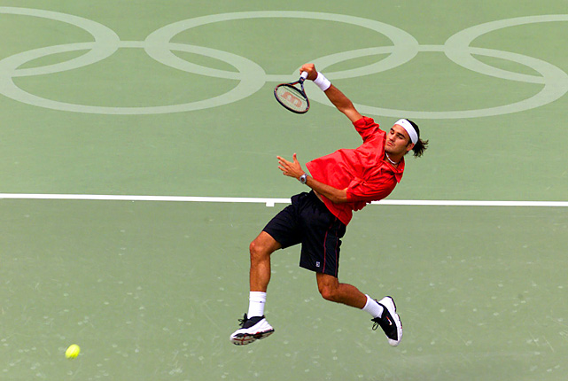 Federer placed fourth at the Olympics, one year before he beat Pete Sampras at Wimbledon and three years before his first major title. Federer, then 19, lost the bronze-medal match to France's Arnaud Di Pasquale, who never got past the fourth round of a major. Federer beat Tommy Haas on his way to the semifinals.