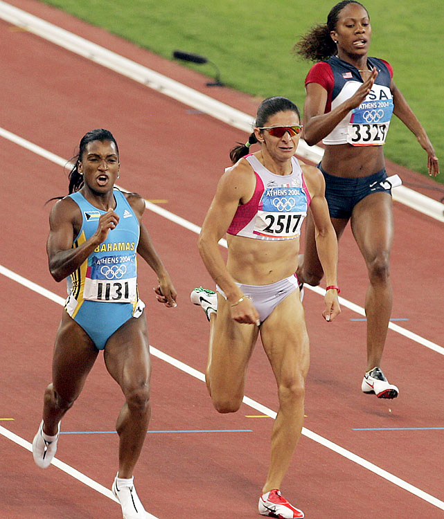 Richards was a world-class 400-meter runner long before marrying NFL cornerback Aaron Ross. Her Olympic debut came in Athens, where she placed sixth in the 400 at age 19. She also ran the third leg of the gold medal-winning 4x400 relay. In London, Richards-Ross will run the 200 and the 400, looking for her first individual Olympic gold.