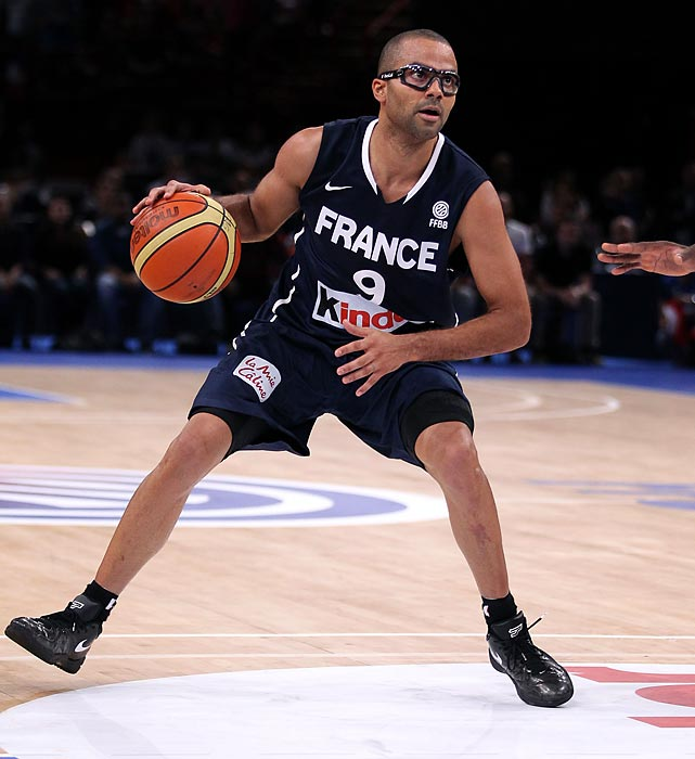 With his eye healing after a stray bottle struck him at a nightclub brawl involving pop stars Chris Brown and Drake, Parker leads a formidable French squad competing in its first Olympics since 2000. Though the French will be missing Joakim Noah due to injury and a large crop of NBA players (Mickael Pietrus, Rodrigue Beaubois and Ian Mahinmi), Parker assures backcourt stability.