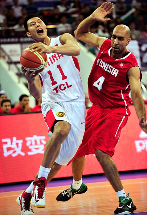 He has struggled to live up to the hype since he was selected with the sixth overall pick in the 2007 NBA draft, but Yi is critical to China's Olympic chances with former superstar Yao Ming retired from international competition. China also features former Los Angeles Lakers guard Sun Yue.