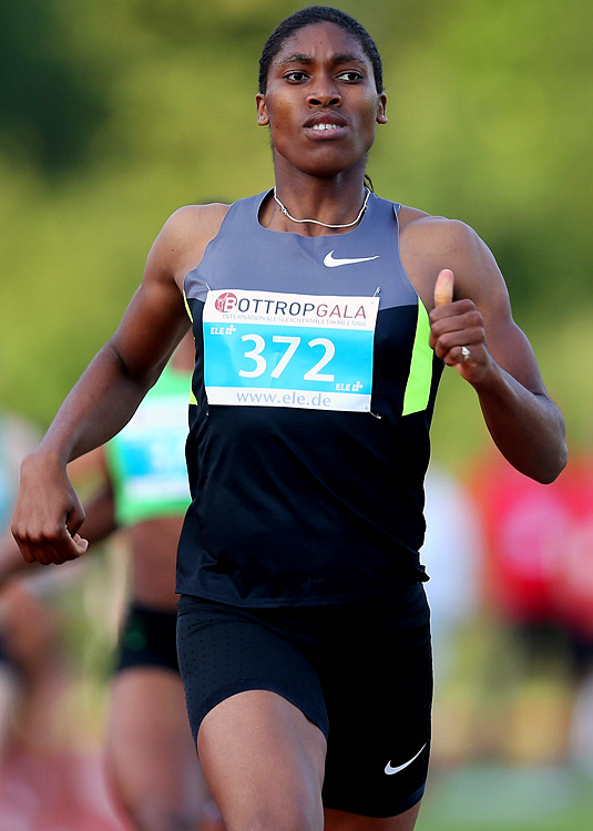 The South African 800-meter runner became famous when the IAAF decided to give her a gender test following her 2009 world championship gold medal.  Despite the controversy, she kept her eye on the prize and recently won silver in the 800 at the 2011 world championship.