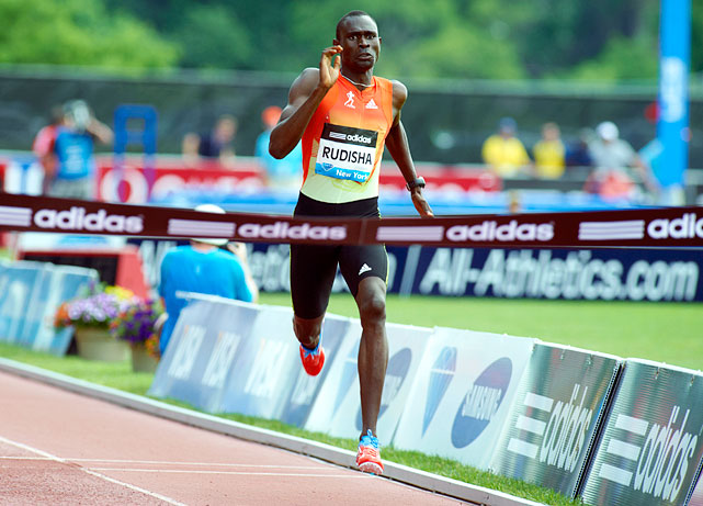 Rudisha is the best 800-meter runner in the world and holds the record with a time of 1:41.01.  The reigning world champion is making his first Olympic appearance.