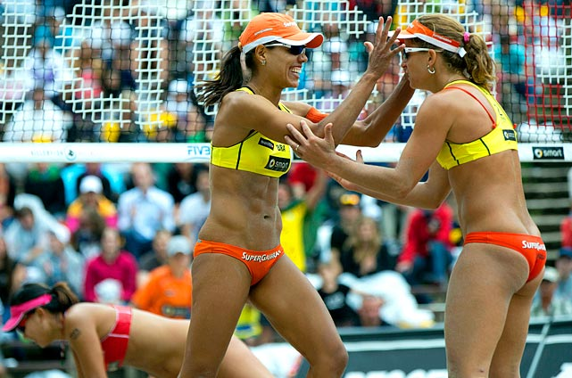 The Brazilian pair of Juliana da Felisberta Silva and Larissa Franca will be one of the favorites to win the gold medal in beach volleyball.  Coming off a win at the Berlin Grand Slam in July, the Brazilians have the American pair of Kerri Walsh and Misty-May Treanor looking over their shoulder.