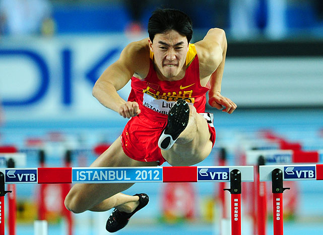 Xiang won the gold medal in the 110-meter hurdles during the 2004 Olympics in Athens, but had to pull of the 2008 Games after injuring himself on a false start.  He is expected to be in 2004 form in London, even at age 29.