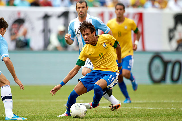 Brazilian forward Neymar has been the next great player in soccer since he was 14 years old.  Now at 20 years old, and after scoring 110 goals in four years for Santos, he has a chance to be the biggest star on a Brazilian team that, on paper, is arguably the best team at the Olympics.