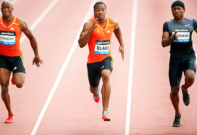 Yohan Blake has been the talk of the track world recently after he beat training partner and world-record holder Usain Bolt in both the 100- and 200-meters during the Jamaican Trials.  Blake hopes to have a coming-out party this summer in London, his first Olympic appearance.
