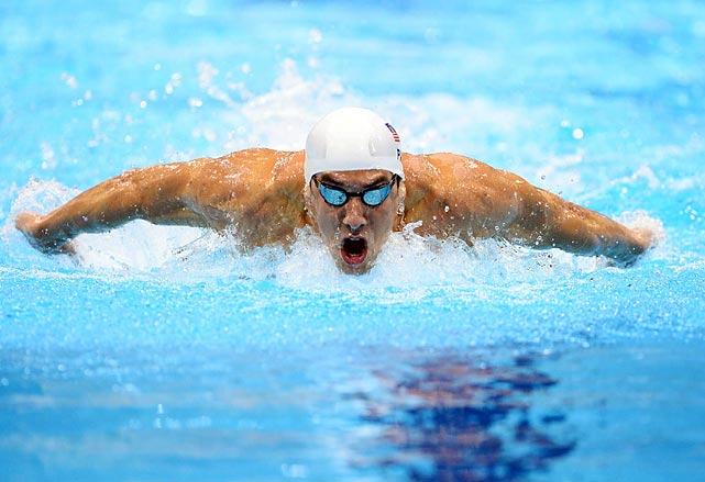 After his shocking fourth in the 400-meter individual medley, Michael Phelps has rebounded, swimming the fastest leg on the U.S.'s silver medal-winning 4x100 relay and, here, cruising through his heat in the 200 butterfly.