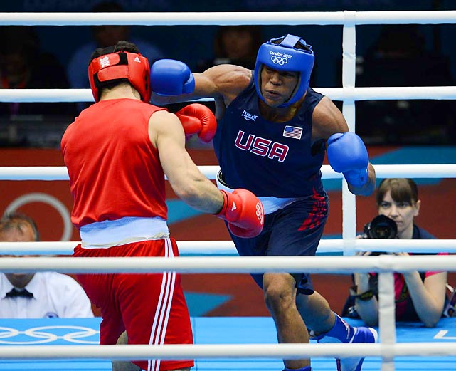 Heavyweight Michael Hunter II of the U.S. took his shot at Russia's Artur Beterbie but came up short, tying on points but losing on the judges' call on a day that also saw U.S. super heavyweight Dominic Breazeale and bantamweight Joseph Diaz Jr. eliminated on decisions.