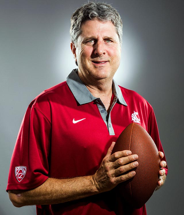 After two years away from coaching following his firing from Texas Tech, Mike Leach was hired in December to take over at Washington State after the Cougars went 9-40 in four seasons under Paul Wulff. Leach led the Red Raiders to 10 bowl games in 10 seasons and his offenses left their marks on the NCAA record books. The first order of business is selecting a QB for his Air Raid offense and Leach has yet to reveal if it will be senior Jeff Tuel or sophomore Connor Halliday.