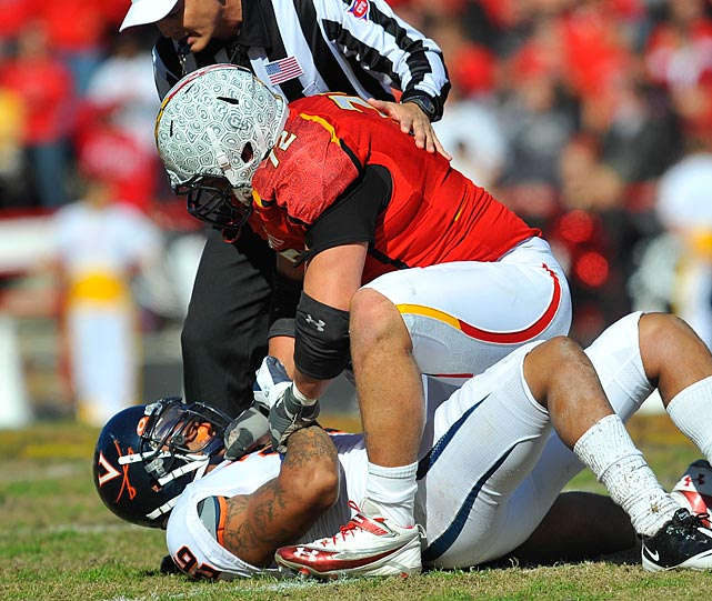 The son of former Terps All-America Paul, Vellano recorded 94 tackles in 2011.