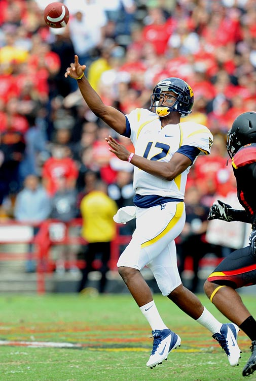 The third-year starter arrives from the Big East after shredding defenses for 4,385 yards through the air in 2011. Smith was responsible for 33 touchdowns (31 passing, two rushing), a Mountaineers single-season record.
