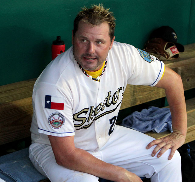 Roger Clemens recently made his return to professional baseball, and so too did his trademark frosted tips. The 50-year-old threw 3 1/3 scoreless innings for the Sugar Land Skeeters, but the seven-time Cy Young winner drew just as much attention for turning back the clock with his hairdo.   Clemens isn't the only athlete to commit the blonde faux pas, check out other athletes who have donned frosted tips over the years.