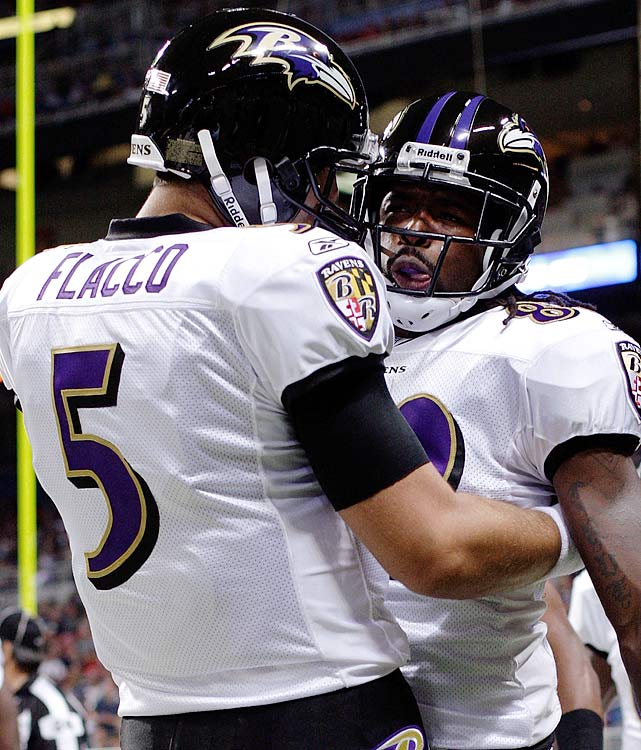 Baltimore's defense will show its age at times this season, and the loss of disruptive outside linebacker Terrell Suggs can't be completely offset. But the Ravens, even with a tough first-place schedule, will be back in the playoffs for an NFL-best fifth consecutive season thanks to an offense that is ready to carry the load. Joe Flacco will put up career-best numbers in the no-huddle offense the Ravens will feature, and receiver Torrey Smith will be a force in the team's vertical passing game.