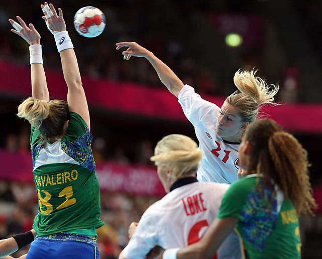 Norway conquered Brazil 21-19 during the Women's Handball quarterfinals match.
