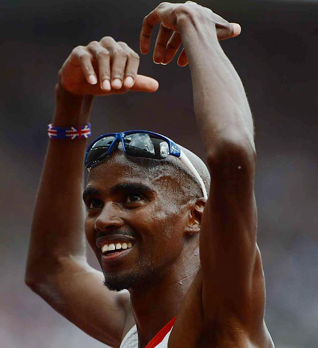 Mo Farah, winner of the 10,000-meter run earlier in the London Games, qualified on Wednesday for the 5,000-meter final.