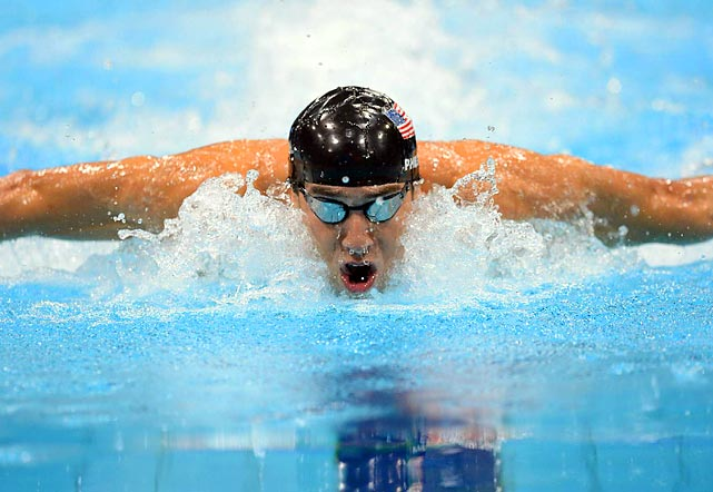 In the last individual race of his Olympic career, Michael Phelps stromed throught he final length to win the 100-meter butterfly and claim his 17th gold medal. South African Chad Le Clos, who beat Phelps in the 200 butterfly, shared silver with Russian Evgeny Korotyshkin in 51.81.