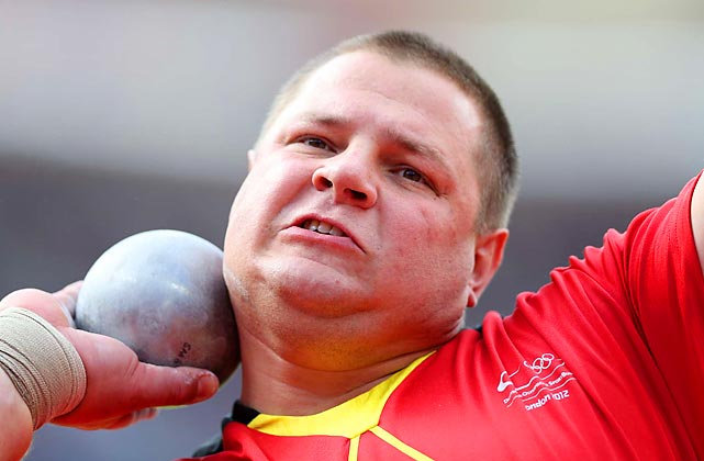 Track and field competition kicked off on Day 7 with the shot put preliminaries.