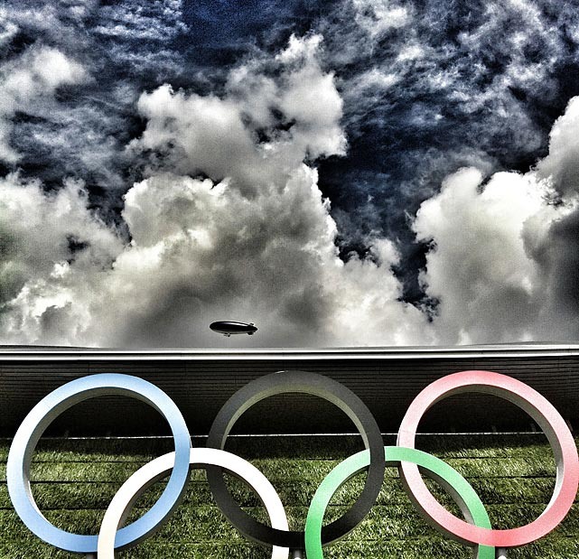 Sports Illustrated asked its staff covering the Olympics in London to shoot instagram photos of anything interesting they see - both on and off the athletic field. Here are some of the best shots from that collection. To see all the photos, go to followgram.me/sportsillustrated.
