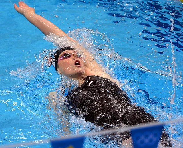 Led by Missy Franklin (pictured), Katie Ledecky, Dana Vollmer, Rebecca Soni and Allison Schmitt, the U.S. women were dominant in London, winning 14 medals -- eight of them gold. Recent gold counts have been two in Beijing, three in Athens and seven in both Sydney and Atlanta.