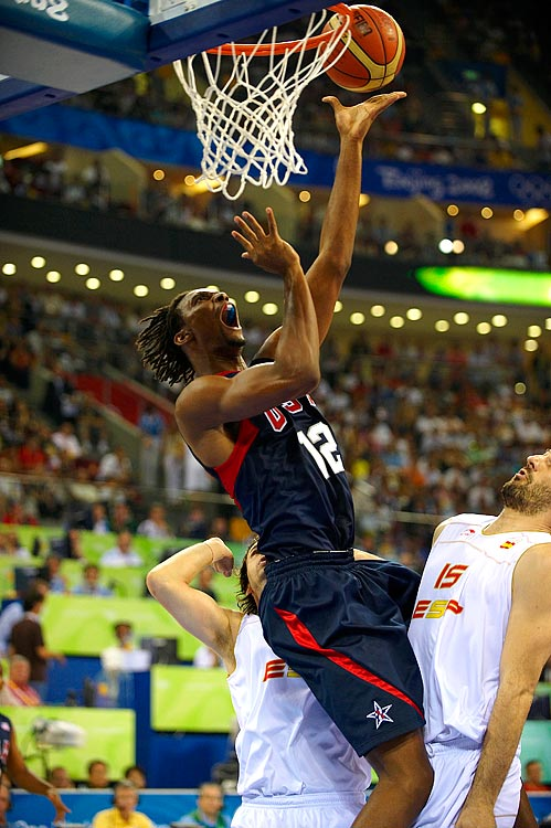 The Beijing gold medalist would have been in London if not for the need to rest an abdominal injury he sustained in the playoffs. Bosh is an ideal international center because of his length, ability to defend on the perimeter and feathery shooting touch. Andrew Bynum is among the other big-man options. But Bosh's history, coupled with Bynum's ambivalence toward playing for the U.S., lands Bosh the spot.