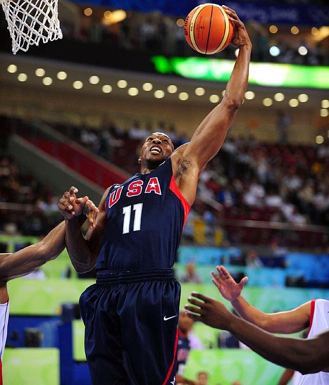 With a second straight Olympic gold medal in the books, the United States has re-established its dominance on the international stage. So what will the basketball team look like in Rio in 2016, when players of all ages are expected to continue to be eligible? Let's take a look:   The U.S. finished as the best rebounding team at the Olympics, but its lack of depth in the pivot was a weakness. Teams fearlessly attacked the rim when Tyson Chandler went out of the lineup, underscoring the need for a second rim protector. Howard, who averaged 10.9 points and 5.8 rebounds in Beijing four years ago, is a natural choice. He was unavailable for London because of a back injury.
