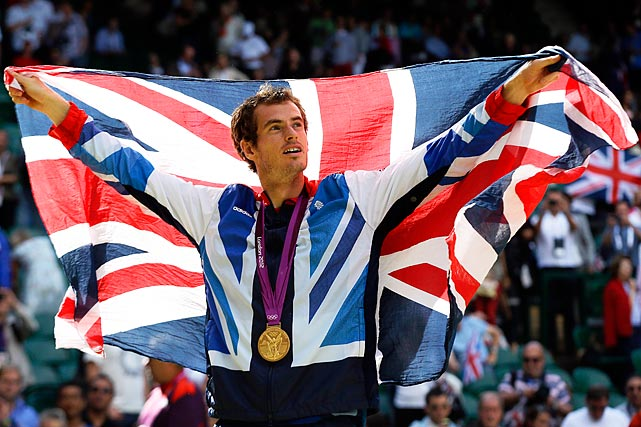 Congrats to Andy Murray for taking that GOLD!  Brits getting' their G Jefferson on! Movin' On Up!