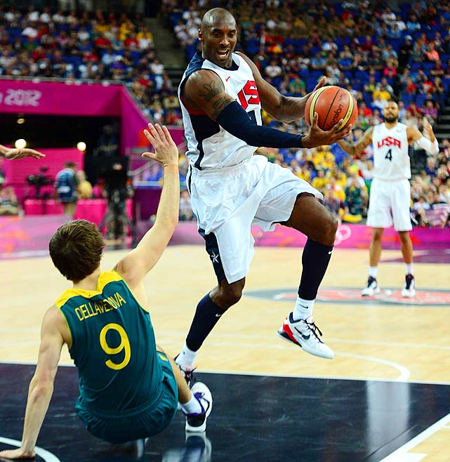 OH YEAH, The BLACK MAMBA'S strikin' all kindsa Aussie A--! G'day fellas! Go USA!!