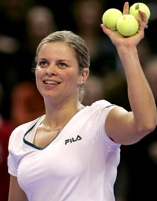 Clijsters announced her retirement in 2007 after losing her opener at the Warsaw event. She went 14-3 in the season including a title in Sydney and a finals showing in Antwerp. Clijsters was ranked No. 4 at her retirement. (Only two players have retired with a higher ranking: Steffi Graf at No. 3 and Justine Henin at No. 1.)
