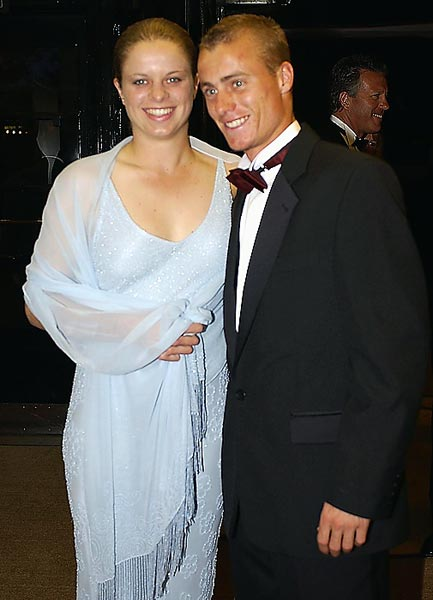 Clijsters and Australian Lleyton Hewitt got engaged in 2003, but they ended their relationship in 2004.