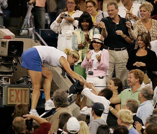 You just won your first major. Climb up into that player's box.