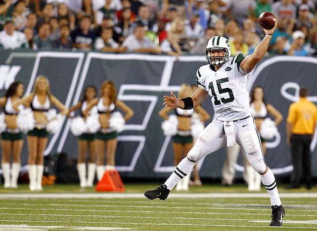 It took until Week 3 of the preseason for Jets fans to chant for Tebow. This season is going to be AWESOME.