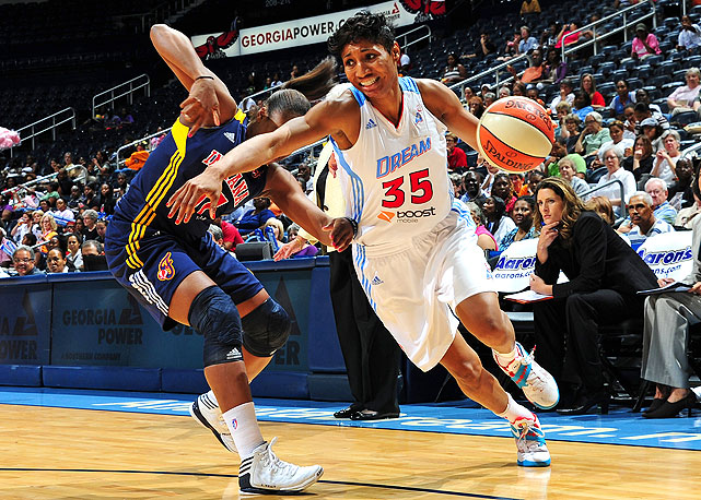 McCoughtry played in just enough games (24) to capture her first league scoring crown, with an average of 21.4 points. Her Dream are coming off back-to-back finals appearances.