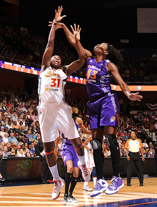 Charles, the star center for the Sun, won her first MVP award this year after finishing second in the race last year. She averaged 18.0 points and 10.5 rebounds during the regular season and had 17 points in a Game 1 win over New York in the Eastern Conference semis.