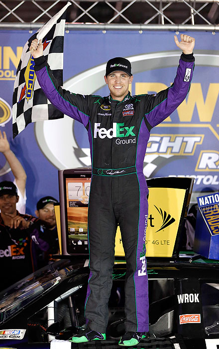A four-race winner, Hamlin is making his seventh consecutive Chase appearance and the second as the No. 1 seed. The last time he held that spot (2010), he finished in second place, 39 points behind champion Jimmie Johnson.