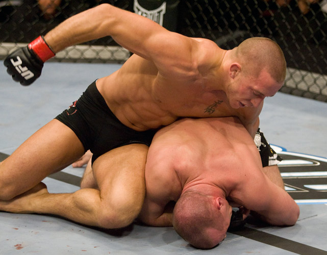 In the UFC's first event in his native Canada, Georges St-Pierre beat Matt Serra at UFC 83 to win the welterweight title. Since then, he's held on to a belt longer than anyone in the UFC outside of Anderson Silva.