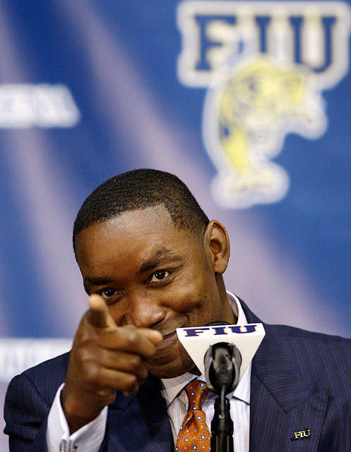 A year after he was released by the Knicks, Thomas accepted a head coaching offer at Florida International University. In three years with the team, Thomas tallied a 26-65 record.