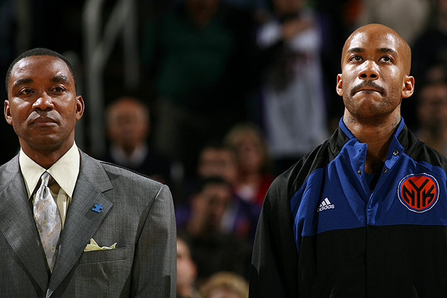 In 2007, Thomas and the Knicks were the subject of a sexual harassment lawsuit by a former MSG employee. The parties eventually settled for $11.5 million, but not before the lawsuit revealed sordid details about the organization and star player Stephon Marbury (right).