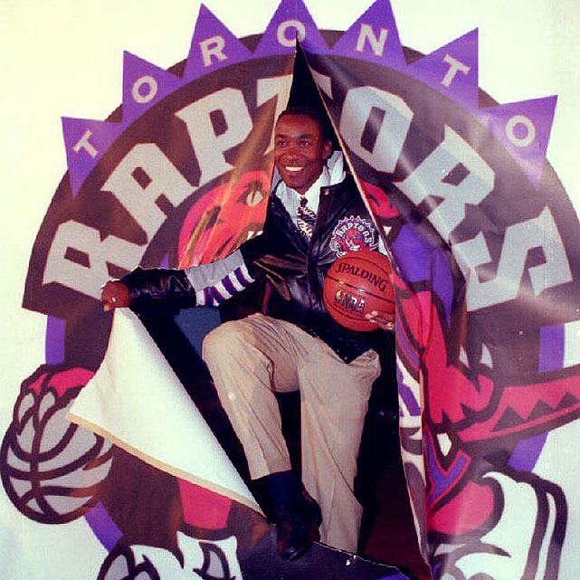 Thomas retired from the league in 1994 and promptly moved into a management position with the Toronto Raptors. During his tenure with the team, the Raptors drafted Damon Stoudamire, Marcus Camby and Tracy McGrady.