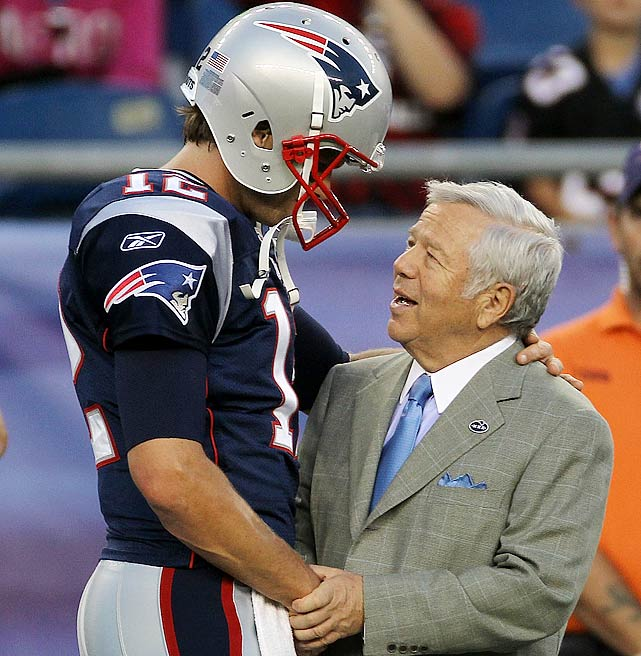 Owner: Robert Kraft Super Bowl Wins: 3