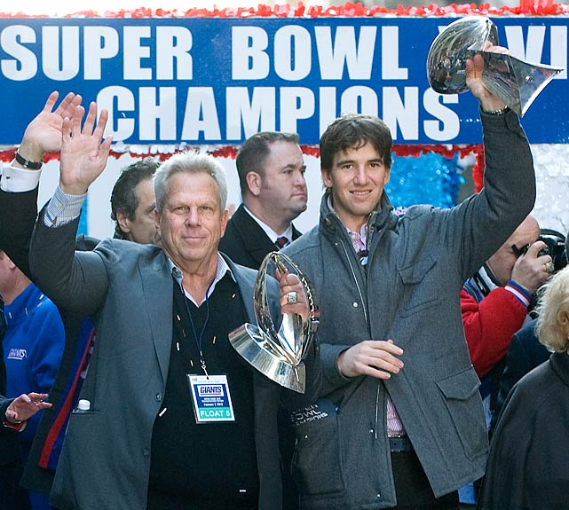 Owners: John Mara, Steven Tisch (left) Super Bowl Wins: 4