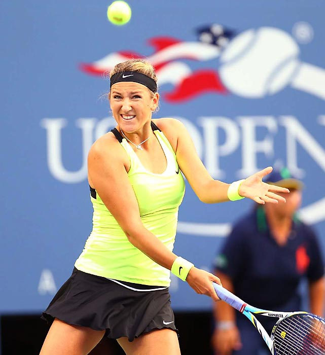 Azarenka secured her spot atop the rankings by reaching the semifinals, where she survived a high-quality three-setter against Maria Sharapova. In the final, Azarenka pushed Serena around the court and led 5-3 in the final set. But Serena prevailed in the first three-set U.S. Open women's semifinal since 1995. The results of the women's event suggest a move away from the chaotic, wide-open world of the WTA: The champions from the season's first three majors, Azarenka, Sharapova and Serena, were the three Olympic medalists and all made the semis at the Open.