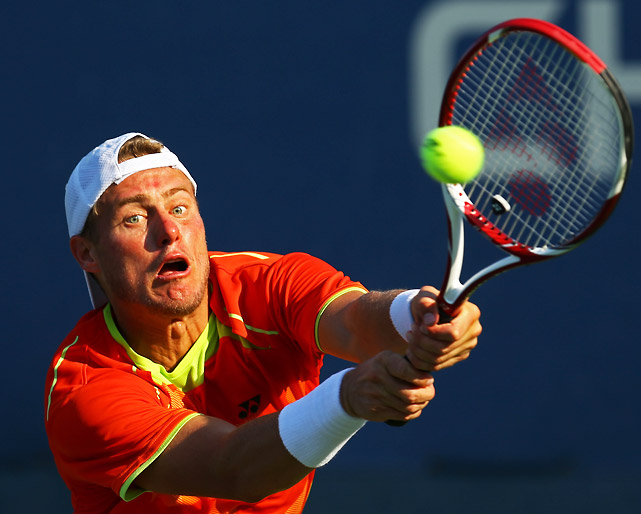 Another fan favorite, Hewitt made a respectable run to the third round, where he lost a highly entertaining match to fourth-seeded David Ferrer. Hewitt, champion here in 2001, has battled a series of injuries, the most recent of which a toe injury that required surgery.