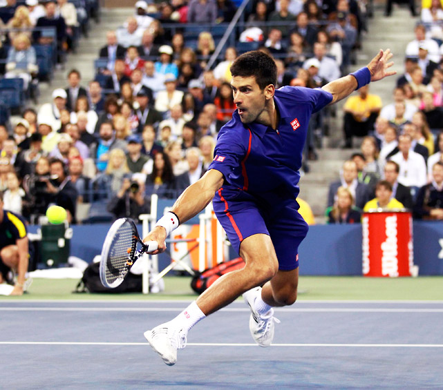 The 2011 U.S. Open champ got off to a sluggish start in the final, but he certainly didn't go down without a fight. Djokovic lost the first two sets to Murray and was trailing in the third, but bounced back to take the match the distance to a full five-set affair. For the first time since '03, there has been a different men's champ at each major.