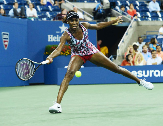 Venus drew a tough second-round opponent in rising German Angelique Kerber and came up just short in three tight sets. Venus was also in the doubles competition with her younger sister, but lost to Maria Kirilenko and Nadia Petrova in the third round.