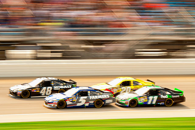 With NASCAR's postseason at full throttle, SI's Lars Anderson describes how the 12 Cup contenders are calling on every resource for that extra mile per hour.