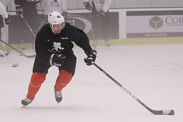 As long as the lockout lasts, staying sharp and in game condition will be a priority for NHL players. Briere, a former All-Star center, is hoping to bounce back from a disappointing, injury plagued 2011-12 season.