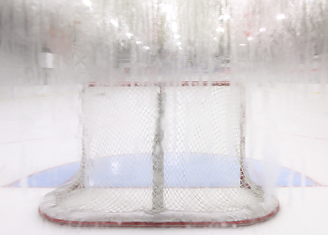 With a heavy fog advisory in effect, the conditions at the rink looked and felt like a metaphor for the 2012-13 season, at least part of which has been canceled due to the ongoing collective bargaining impasse.