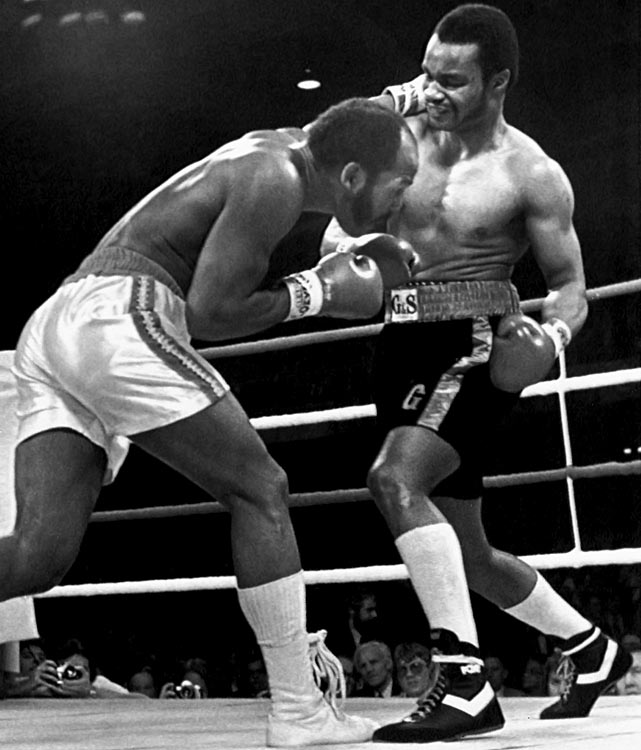 Born Eddie Gregory, Muhammad knocked out Marvin Johnson in 1980 to win the WBA Light Heavyweight title.  Muhammad is famed today as a trainer of multiple world champions.