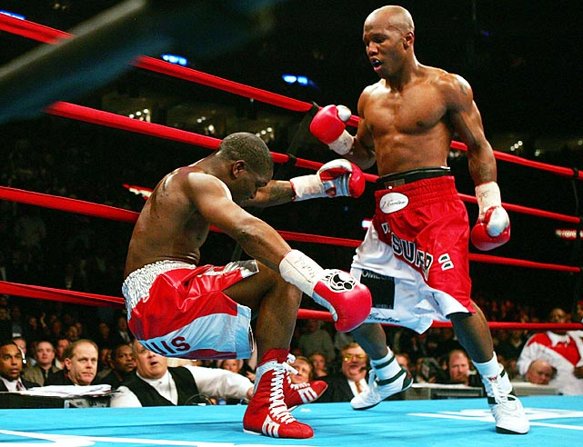 "Judah won the IBF Junior Welterweight title in 2000 with a fourth-round knockout of Jan Bergman.  In 2003, a decision over DeMarcus ""Chop Chop"" Corley gave him the WBO Junior Welterweight crown.  Judah's finest hour came in 2005 when he knocked out Cory Spinks to win the undisputed welterweight title.  Since then Judah, added one more title belt to his collection in knocking out Kaizer Mabuza in seven rounds for the vacant IBF Junior Welterweight title in 2011."